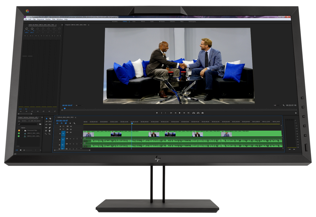 Waskul.TV artists were among the first to use the new HP DreamColor Z31x Studio Display in a live broadcast environment during the 2017 NAB Show