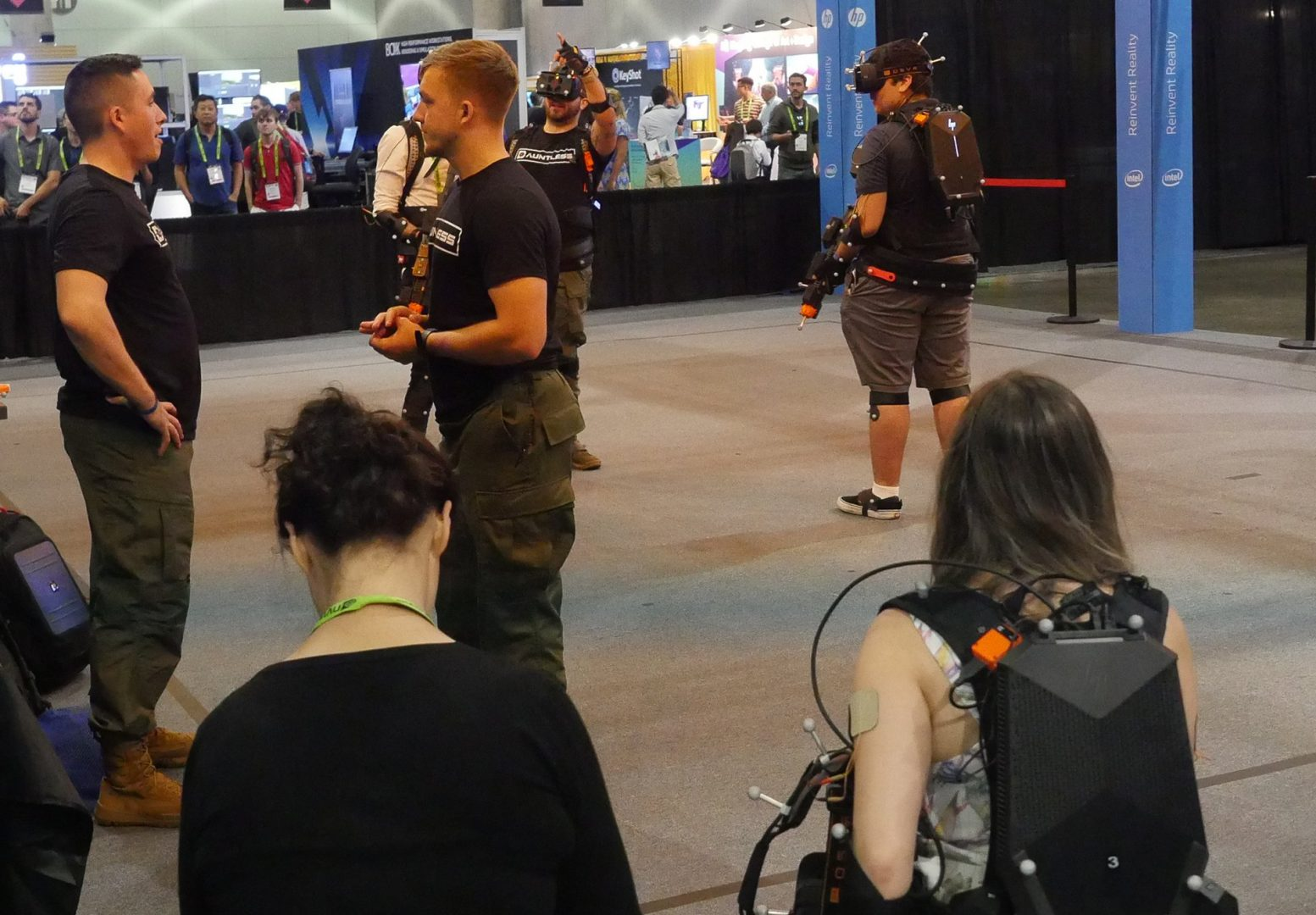Motion Reality's Dauntless VR simulation solution gave SIGGRAPH 2017 attendees a fully immersive military virtual reality training experience in StudioXperience