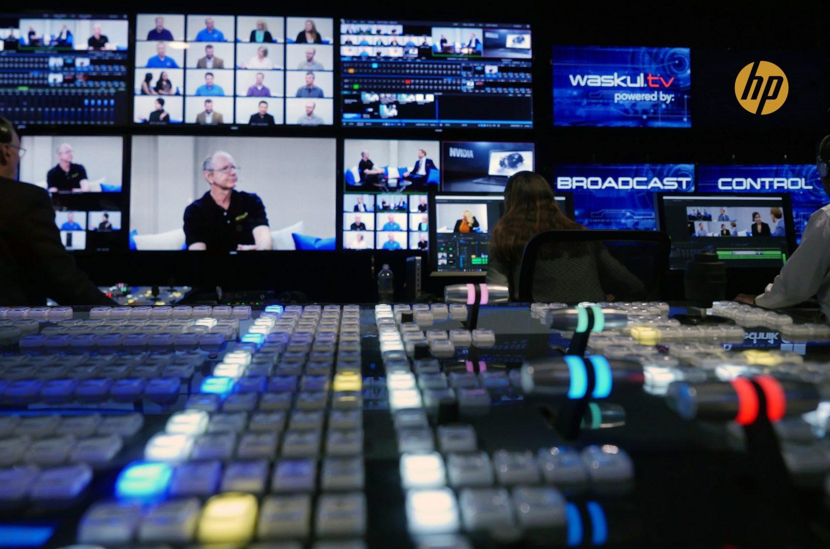 Waskul.TV StudioXperience Broadcast Control at 2017 NAB Show