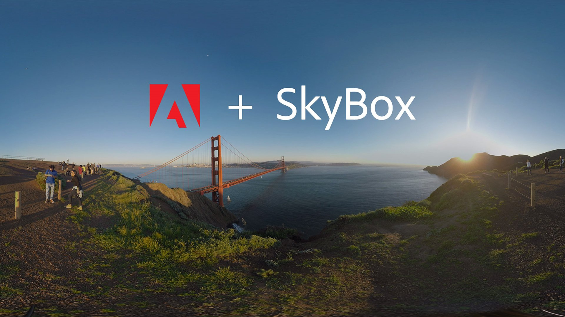 Adobe showed off it's newly acquired SkyBox plug-ins for editing and applying effects and titles on 360-degree content using HP's VR-Ready ZBook 17 G4 with NVIDIA P5000 graphics.