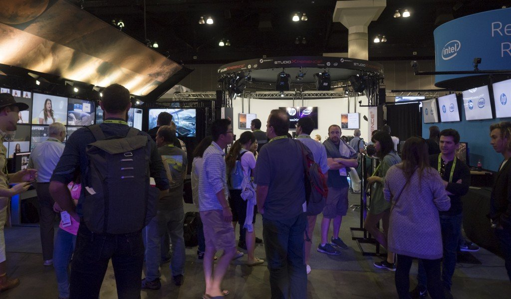 StudioXperience welcomes SIGGRAPH 2017 attendees with a great lineup of interviewees and a wide range of compelling VR experiences to try powered by HP Z Workstations with Intel processors