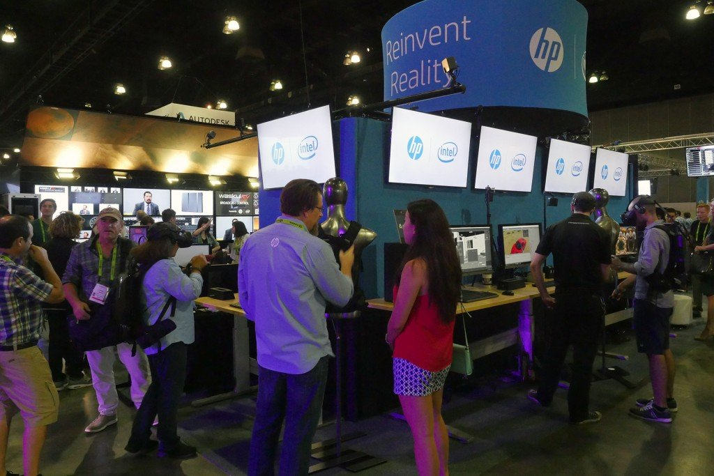HP Technology Zone in StudioXperience featured a range of VR demonstrations powered by HP Z Workstations and the HP Z VR Backpack at SIGGRAPH 2017