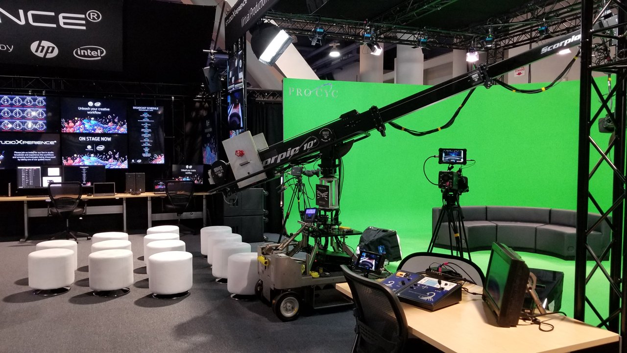 At the 2018 NAB Show, StudioXperience featured a new virtual production workflow based upon Zero Density's Reality software running on HP Z8 Workstations
