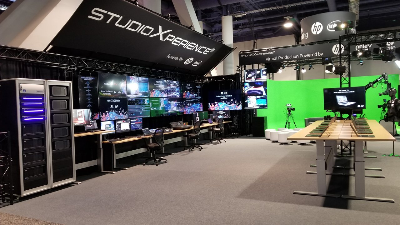 The HP ZBook Mobile Workstation Zone and the Waskul.TV Broadcast Control Center were featured StudioXperience attractions at the 2018 NAB Show