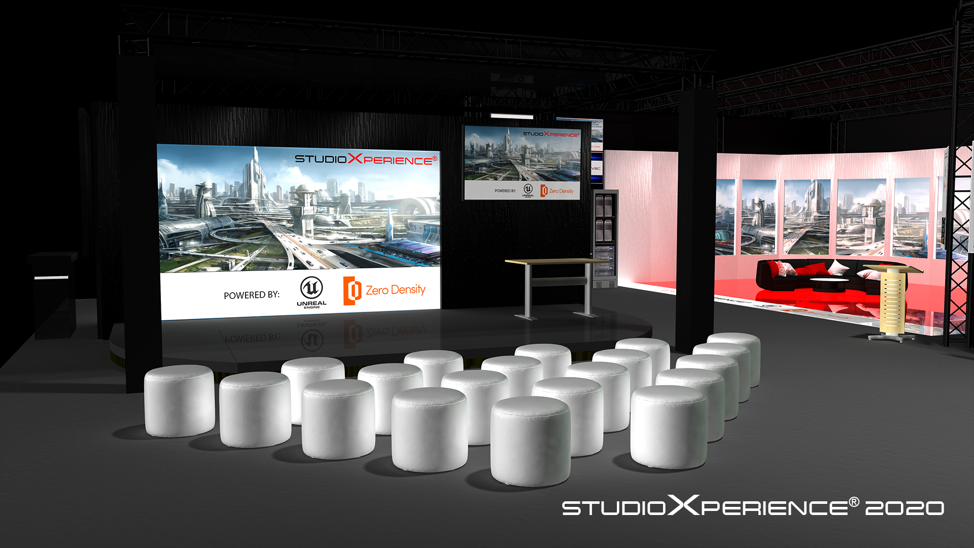 StudioXperience Presentation Theater at the 2020 NAB Show